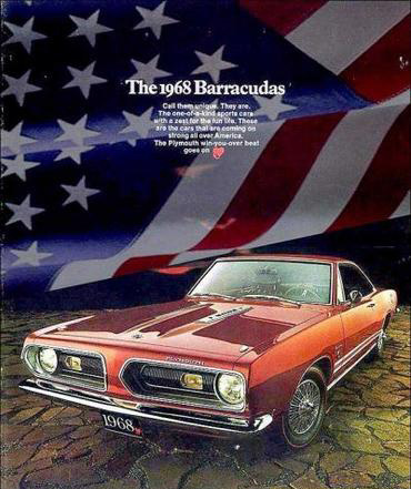 1968 Plymouth Factory Advertisement